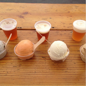 Beer floats at SoMa Streat Food Park in July. Photo: Courtesy of Headlands