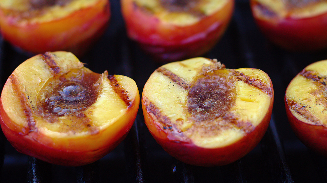 Jack Bishop of <em>America's Test Kitchen</em> says the trick to grilling peaches is using fruit that's ripe but firm. Photo: mccun934/via Flickr