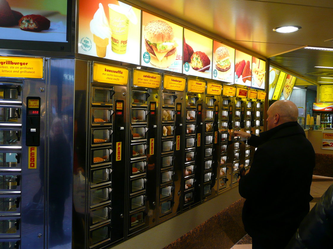 http://www.npr.org/blogs/alltechconsidered/2013/08/28/216541023/the-fast-food-restaurants-that-require-few-human-workers. Photo: John Kannenberg/Flickr