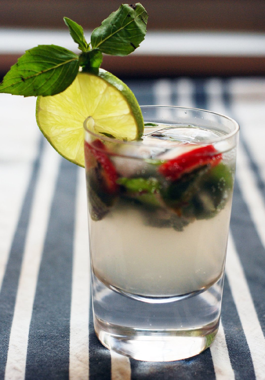 Spicy Thai Basil Mojito. Photo: Serri Graslie