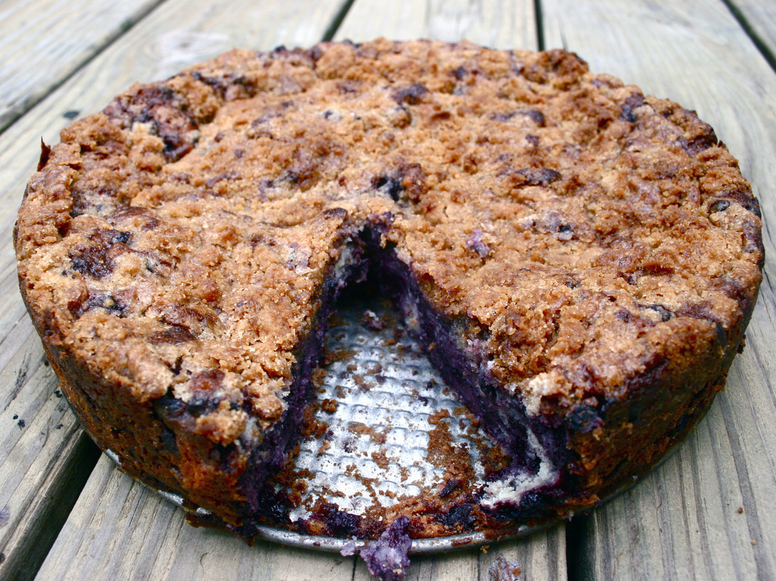 Blueberry Buckle. Photo: Emily Hilliard for NPR