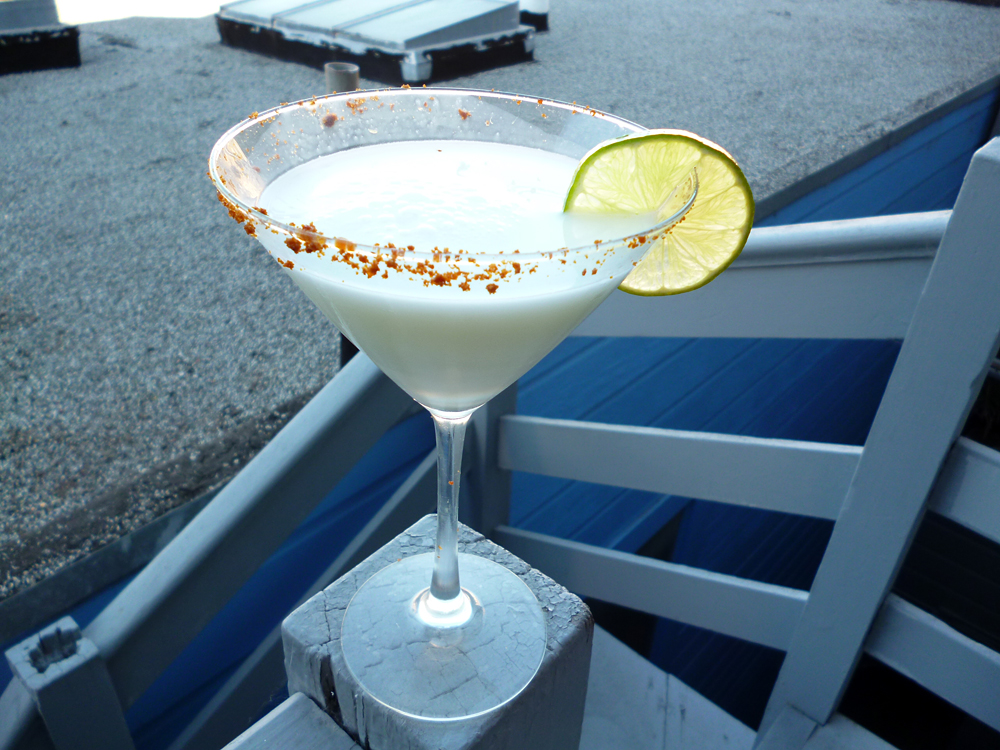 Key Limetini. Photo: Stephanie Rosenbaum