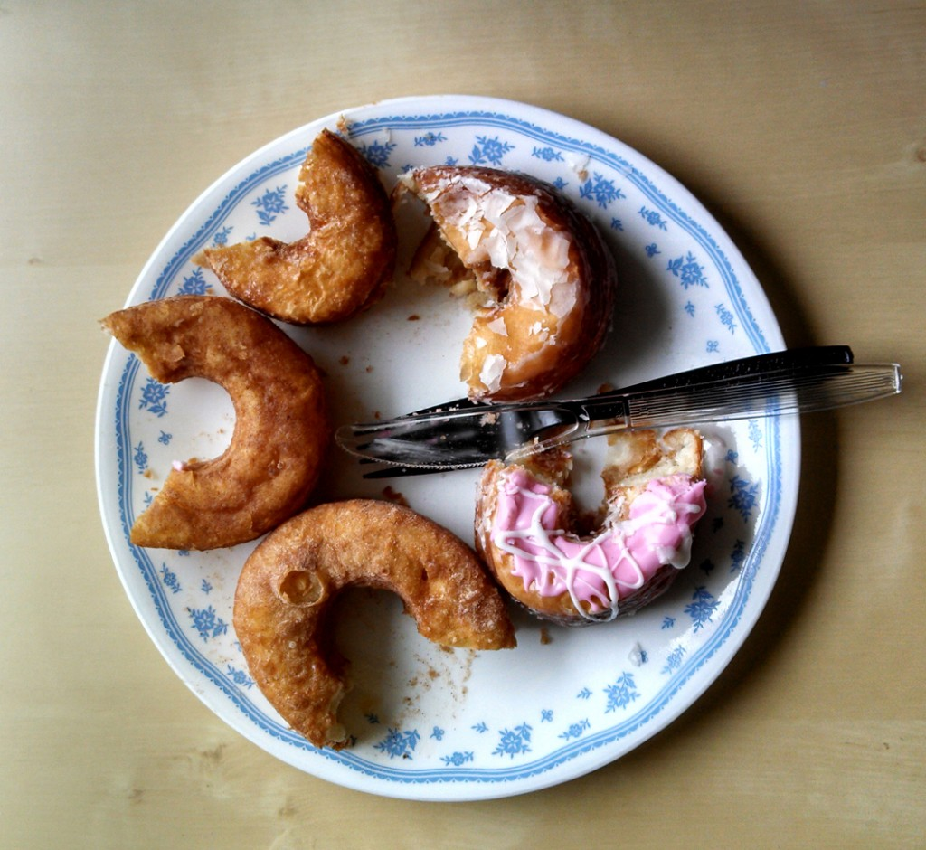 Five cronuts from around the Bay Area. Photo: Kelly O'Mara