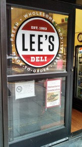 Lee's Deli on California in the financial district hand the elusive CroNots. All the Lee's locations get deliveries each morning. Photo: Kelly O'Mara