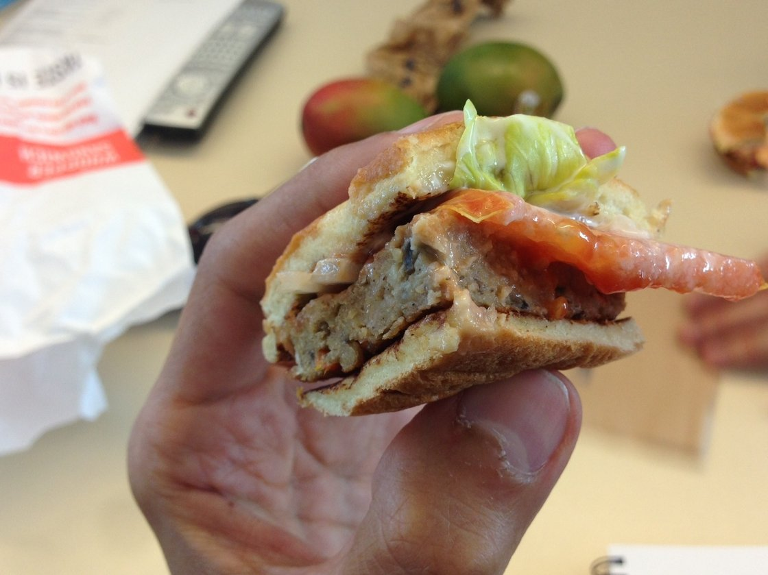Burger King's veggie burger is among the many meat substitute options on the market. Photo: NPR