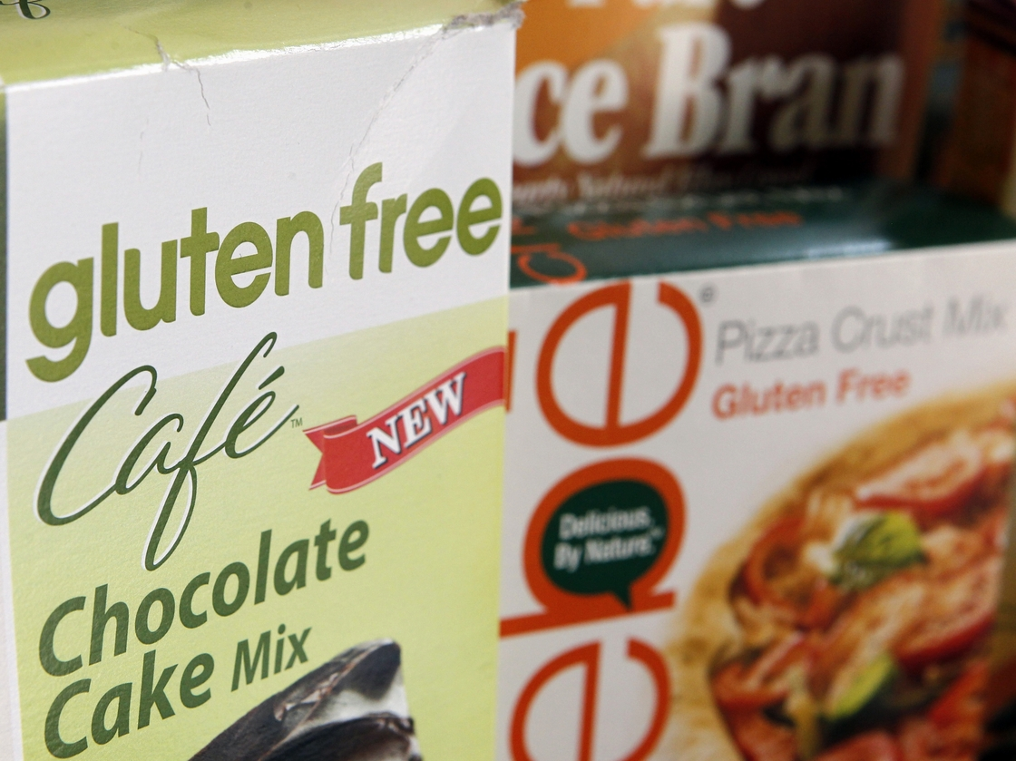 """The Food and Drug Administration is at last defining what a """"gluten free"""" label on a food package really means after nine years of consideration. Photo: Jon Elswick/AP"""