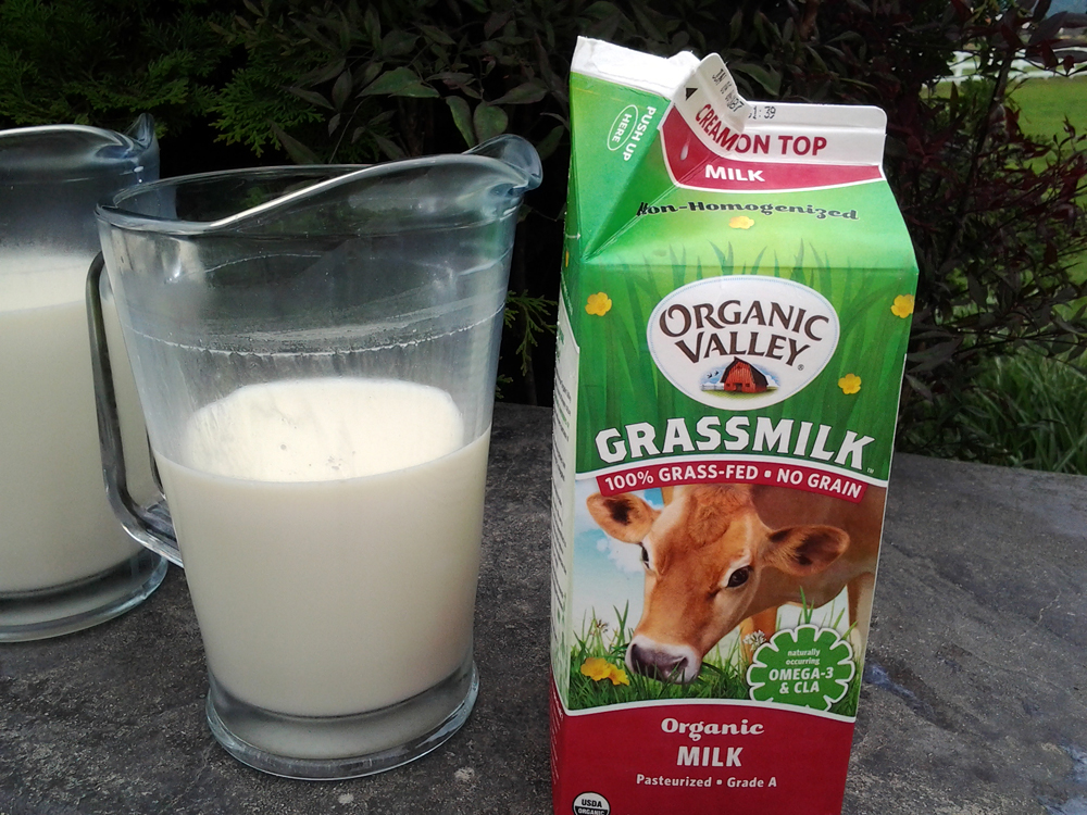 Organic Valley Grassmilk. Photo: Mary Ladd