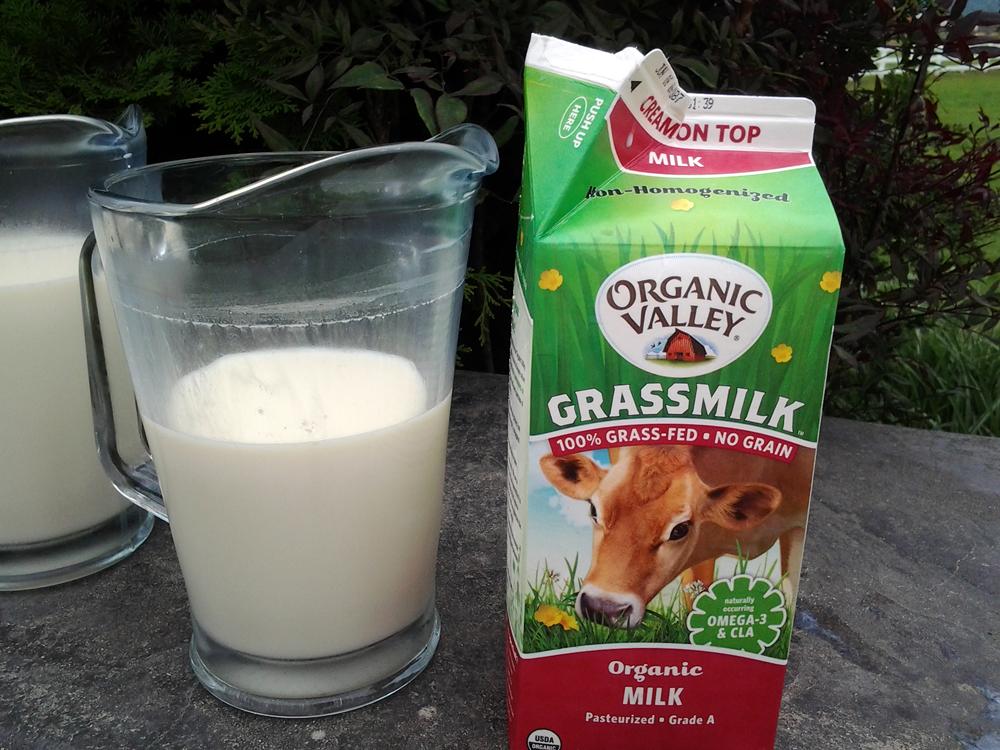 Organic Valley Grassmilk. Photo: Mary Ladd