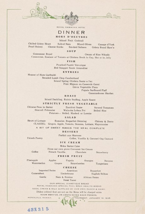 10 Vintage Menus That Are a Feast for the Eyes, If Not