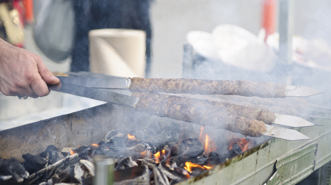 Many different Middle Eastern cultures claim to have invented the kebab. Photo: iStockPhoto.com