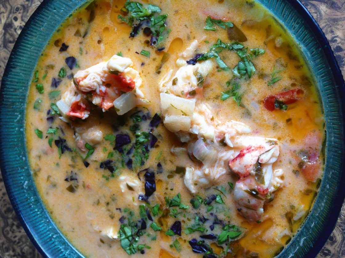 Lobster Moqueca. Photo: Laura McCandlish for NPR