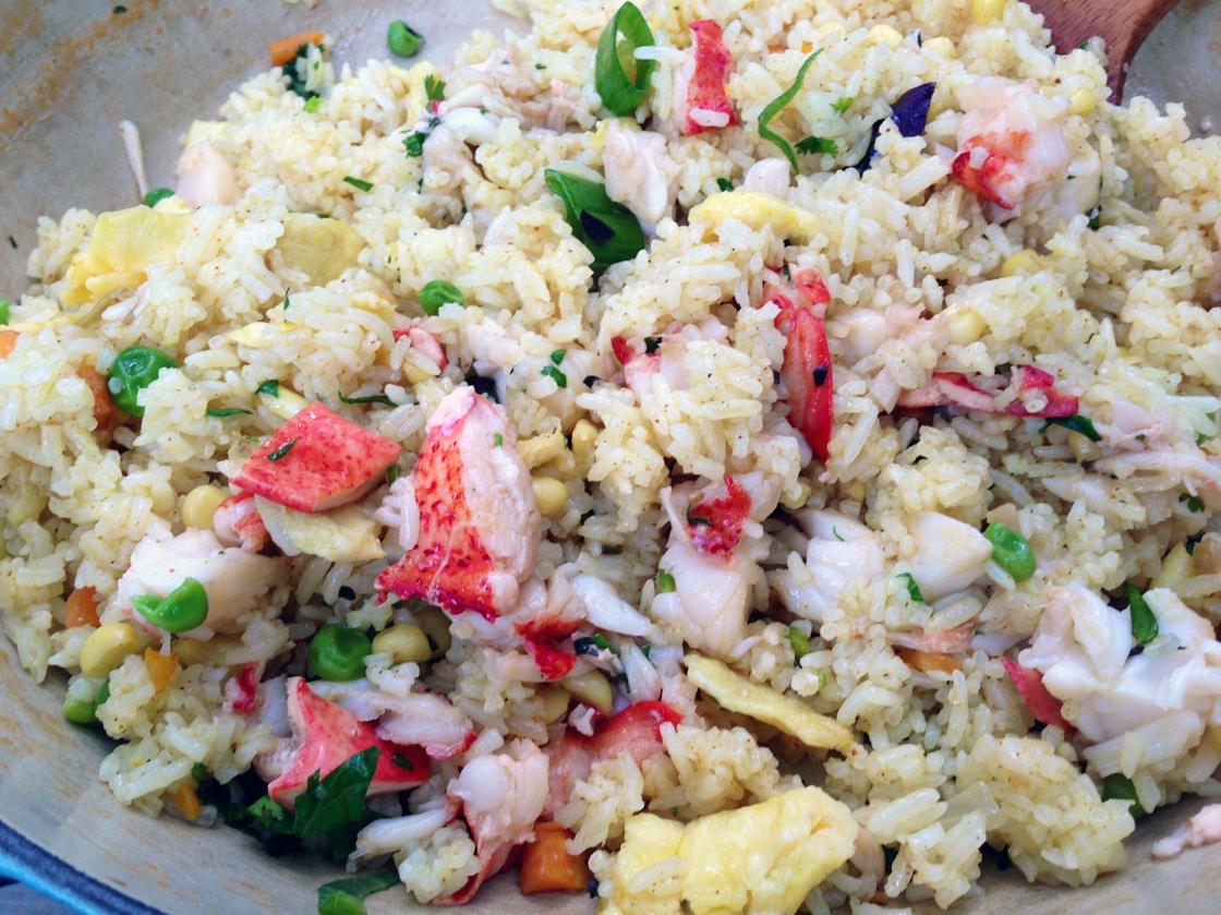 Lobster Fried Rice. Photo: Laura McCandlish/NPR