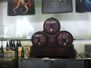 Wine on tap at Periscope. Photo: Granate Sosnoff