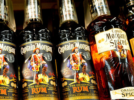 Captain Morgan rum is, by volume, one of the top-selling brands of spirit in the U.S. Photo: Rui Vieira/PA Photos/Landov