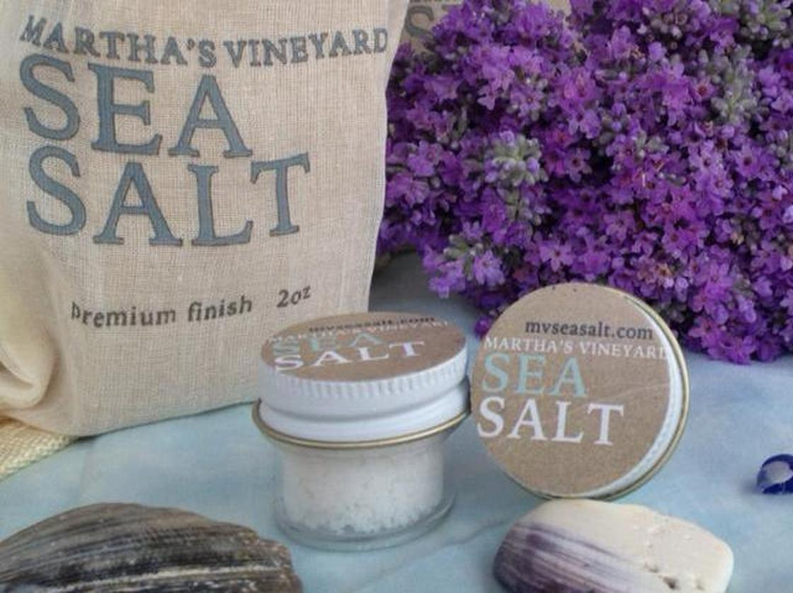 Martha's Vineyard Sea Salt is one of several companies bringing salt-making back to the shores of Massachusetts. Photo:  Courtesy of Heidi Feldman
