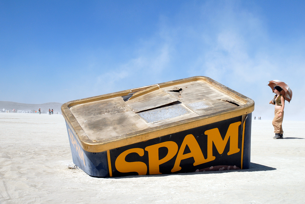 SpamTanic by Karen Weir (Burning Man 2012)