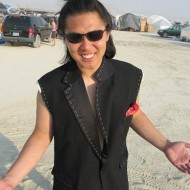 Hua, dressed in his playa best