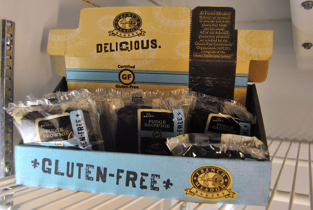 Gluten-free foods have become more common and popular -- and include tasty treats now. Photo: Mark H. Anbinder/Flickr