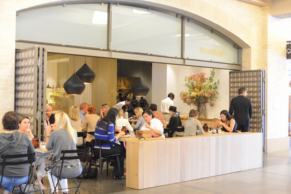 Bouli Bar is housed in the former Culinare space and opens out into the main Ferry Plaza hallway. Photo: Kate Williams