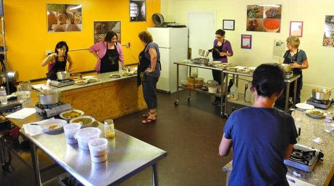Ethiopian cooking classes with Brundo in West Oakland