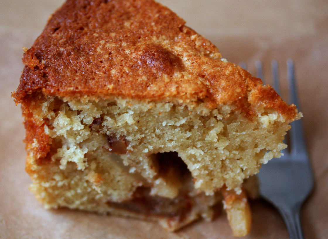 Apple and Butter Cake. Photo: Nicole Spiridakis for NPR