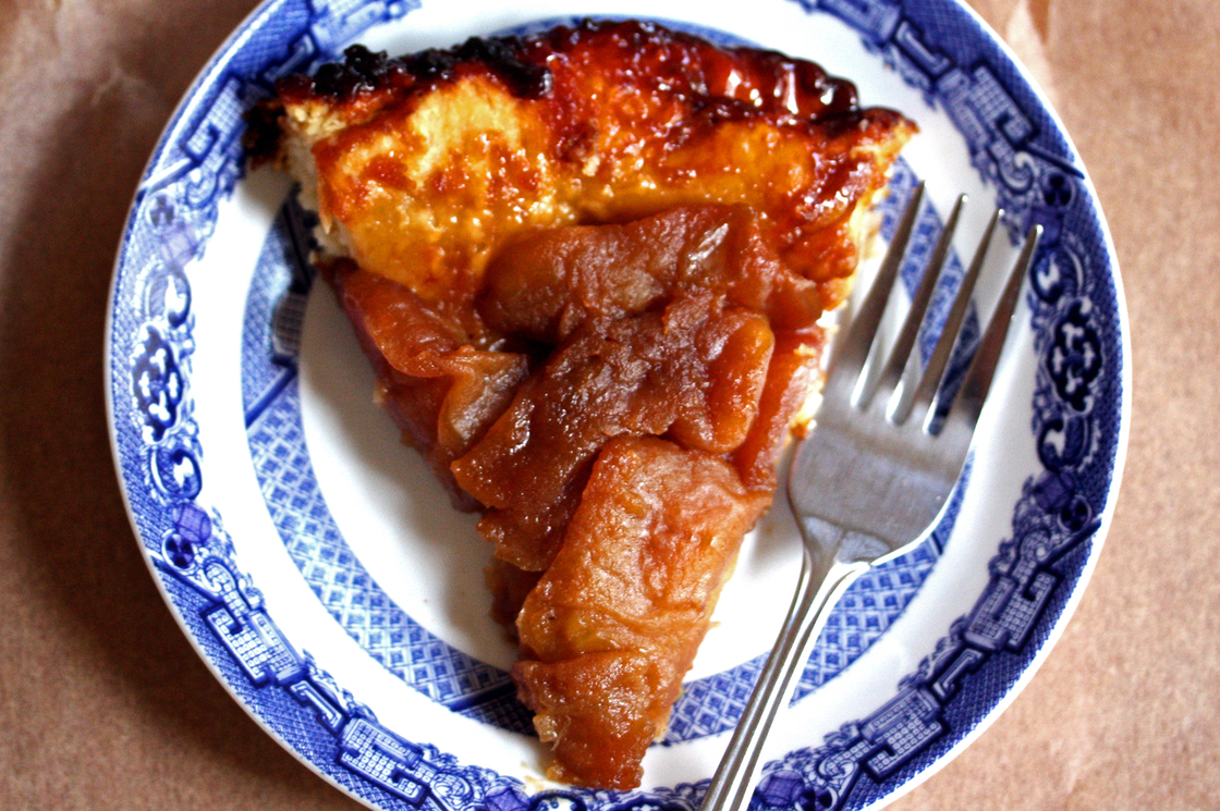 Brown Sugar Tarte Tatin. Photo: Nicole Spiridakis for NPR
