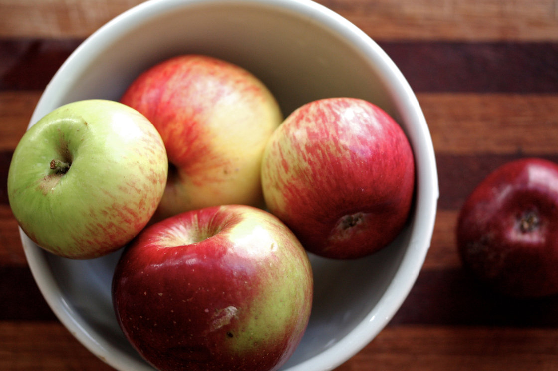 Gravenstein Apples. Photo: Nicole Spiridakis for NPR