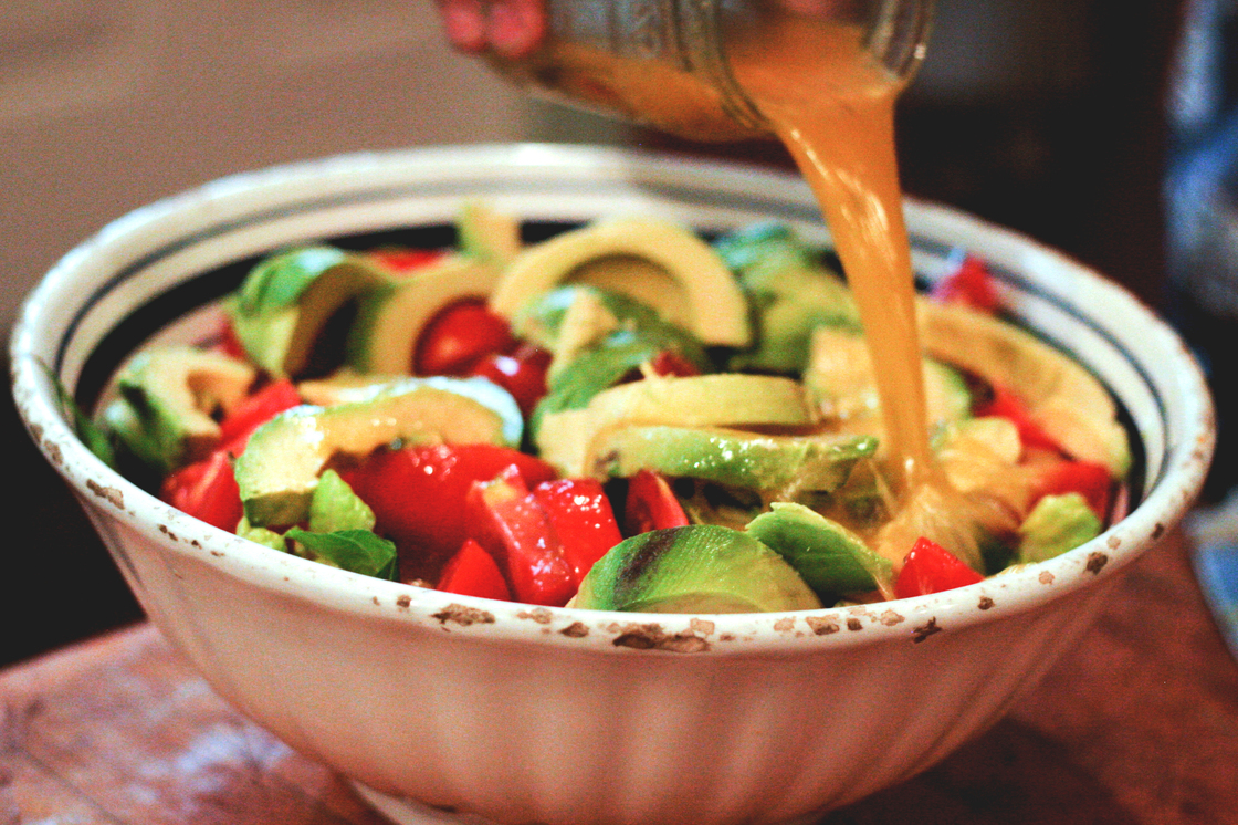Avocado Salad With Salty, Spicy Lime Dressing. Photo: Tom Gilbert for NPR