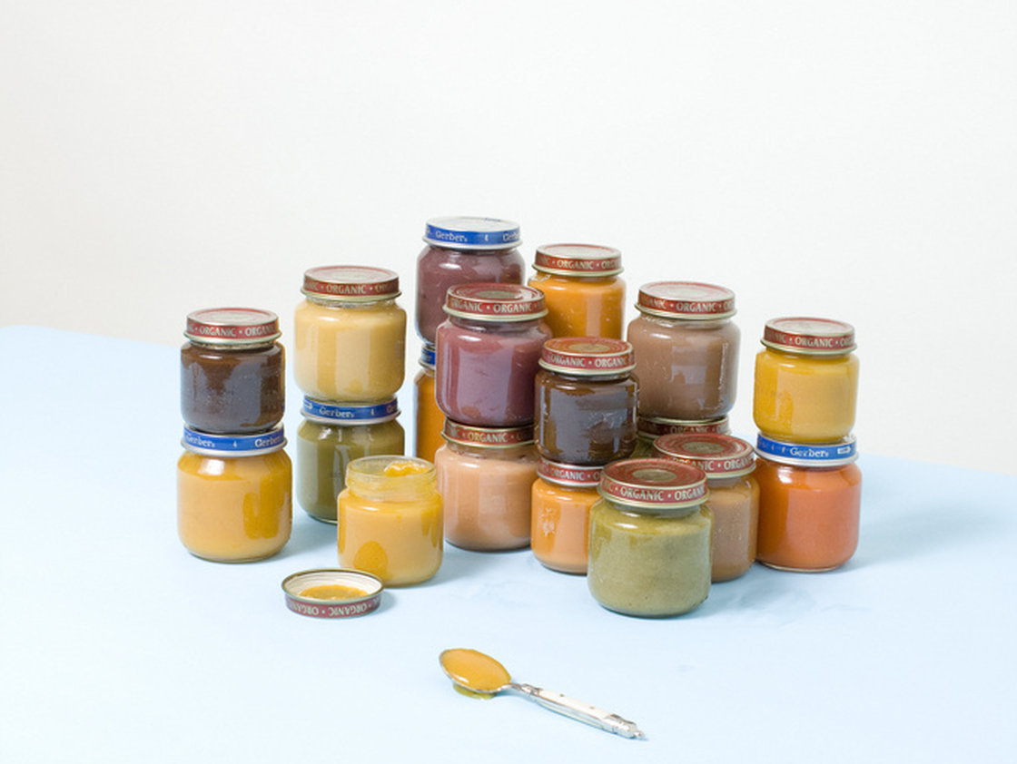 <strong>The Baby Food Diet:</strong> This diet calls for replacing several meals and snacks with tiny jars of baby food, plus a healthful dinner. The diet was widely attributed to Tracy Anderson, trainer to celebrities like Gwyneth Paltrow, though Anderson has since reportedly denied endorsing it. Photo: Stephanie Gonot/Courtesy of the photographer