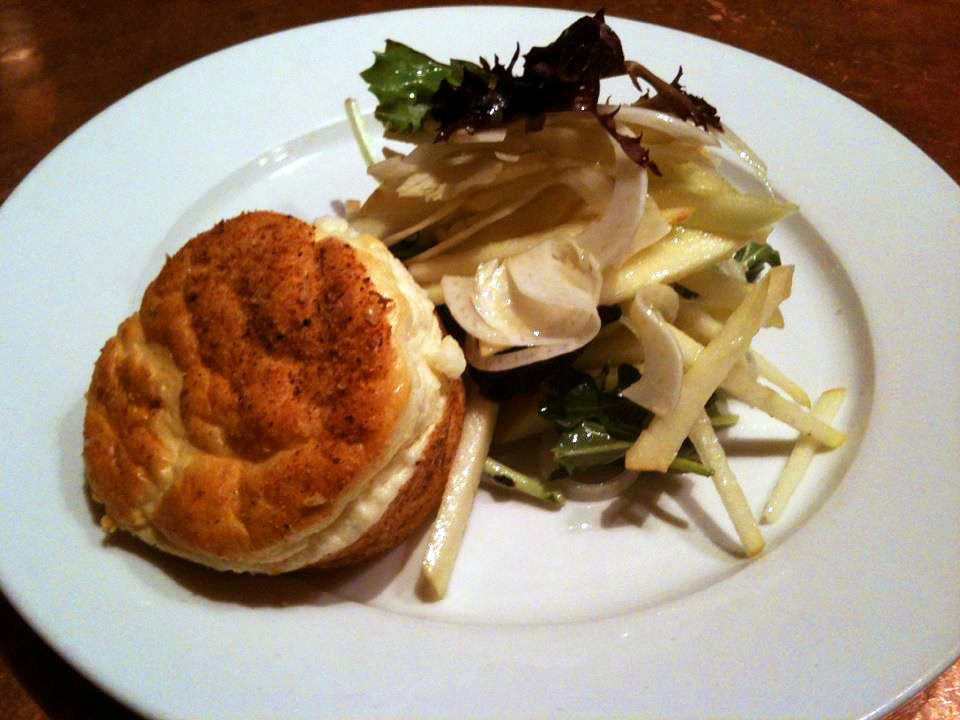 Sidebar's goat cheese souffle (Photo courtesy Sidebar)