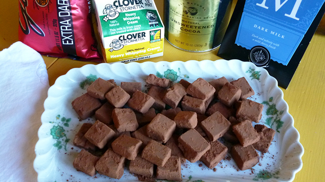 Making Chocolate Truffles with Charles Chocolates: Recipe and Google+ Hangout Video