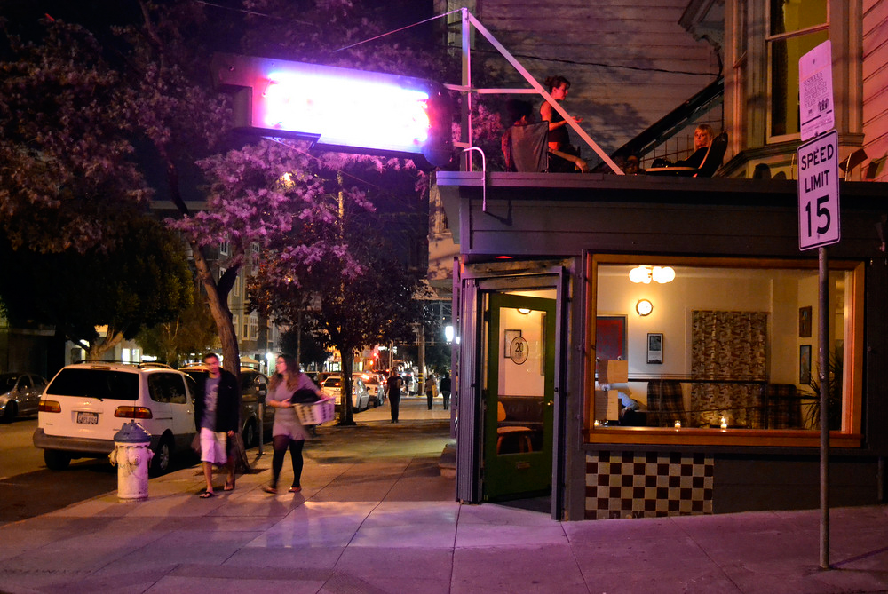 20 Spot is a new mod wine bar in the Mission district. Photo: Kate Williams