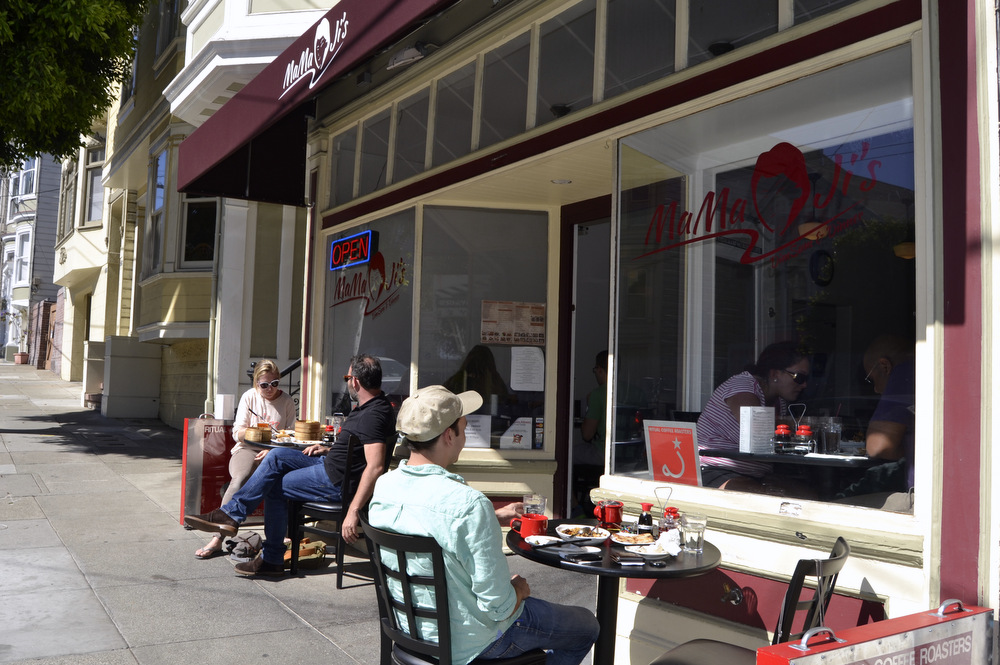 Mama Ji's sits on a quiet stretch of 18th Street in the Castro. Photo: Kate Williams