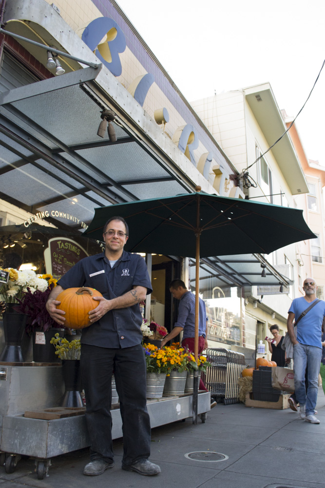 Sam Mogannam owns BiRite Market on 18th Street in San Francisco and recently opened a second location on Divisadero Street. He's an alumnus of City College of San Francisco's culinary department. Photo: Sara Bloomberg