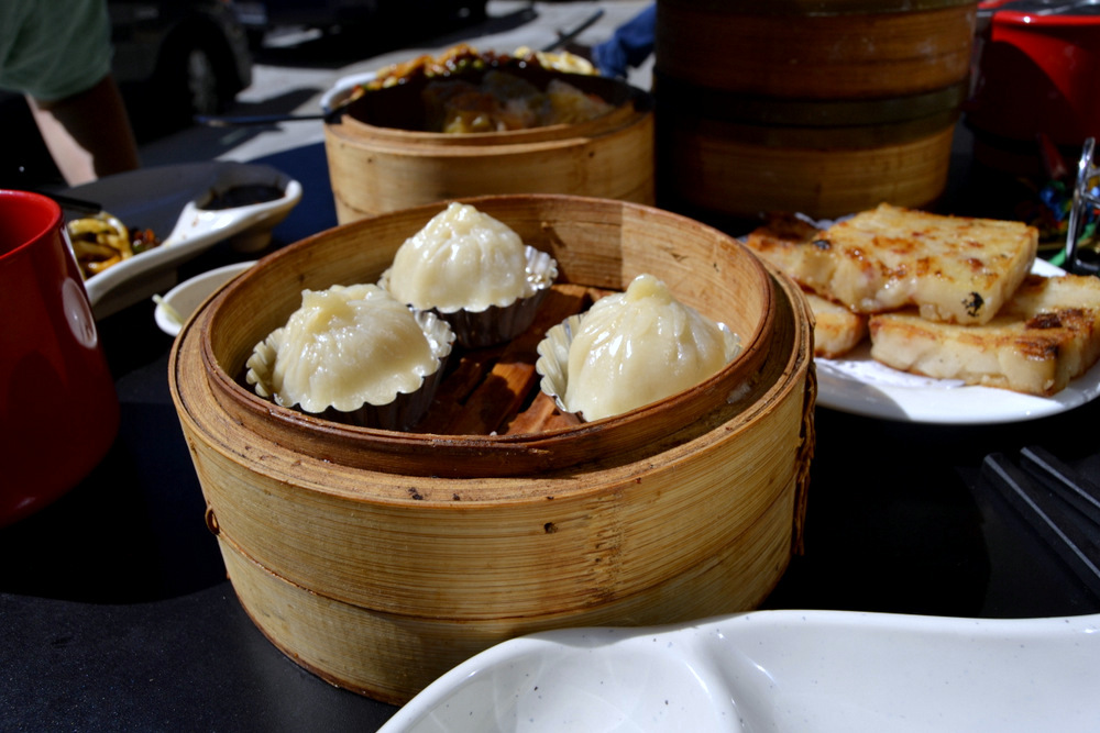 Shanghai Dumplings w/ Turnip Cakes.jpg Caption: Shanghai soup dumplings are a classic dim sum order. Photo: Kate Williams