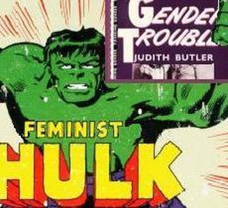 Feminist Hulk. Courtesy Jessica Lawson