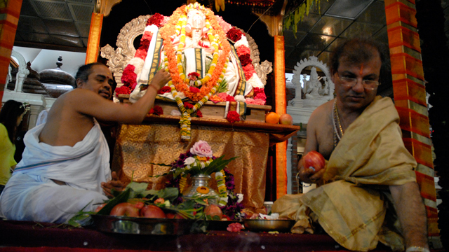 Food & Spirituality: Serving Up a Holy Feast at the Shiva-Vishnu Temple