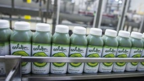 Evolution Fresh, owned by Starbucks, plans to quadruple its production of cold-pressed juice at a newly opened factory. Photo: Courtesy of Starbucks