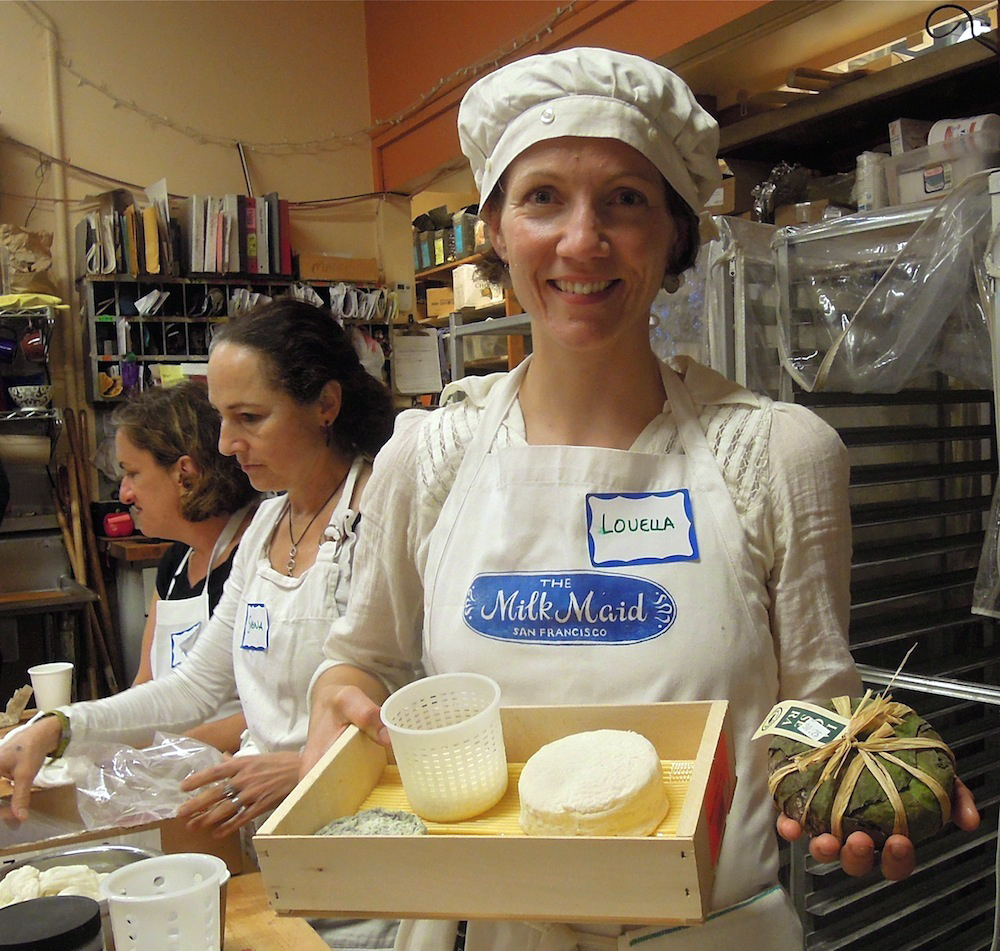 Louella Hill, SF Milkmaid. Photo: Anna Mindess