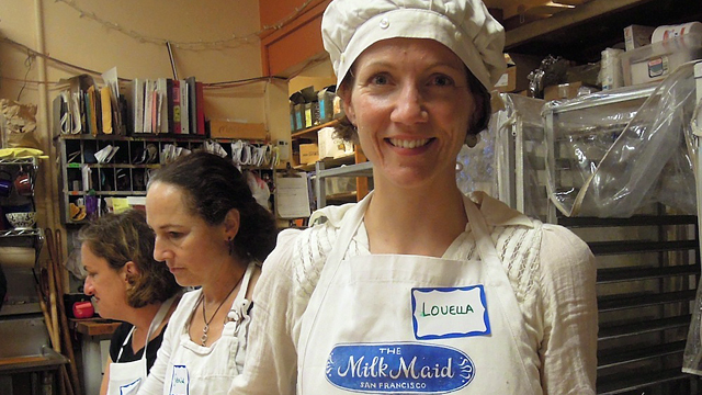 Cheese Class: Making Chevre with the San Francisco Milkmaid