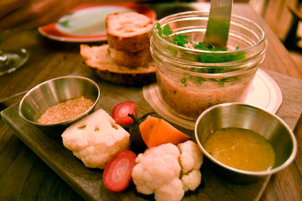 The potted rabbit dish was the best of the night. Photo: Kate Williams