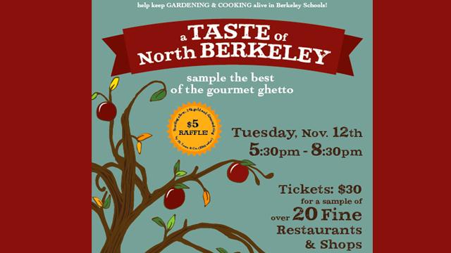 Taste of North Berkeley Benefits Schools' Cooking & Gardening