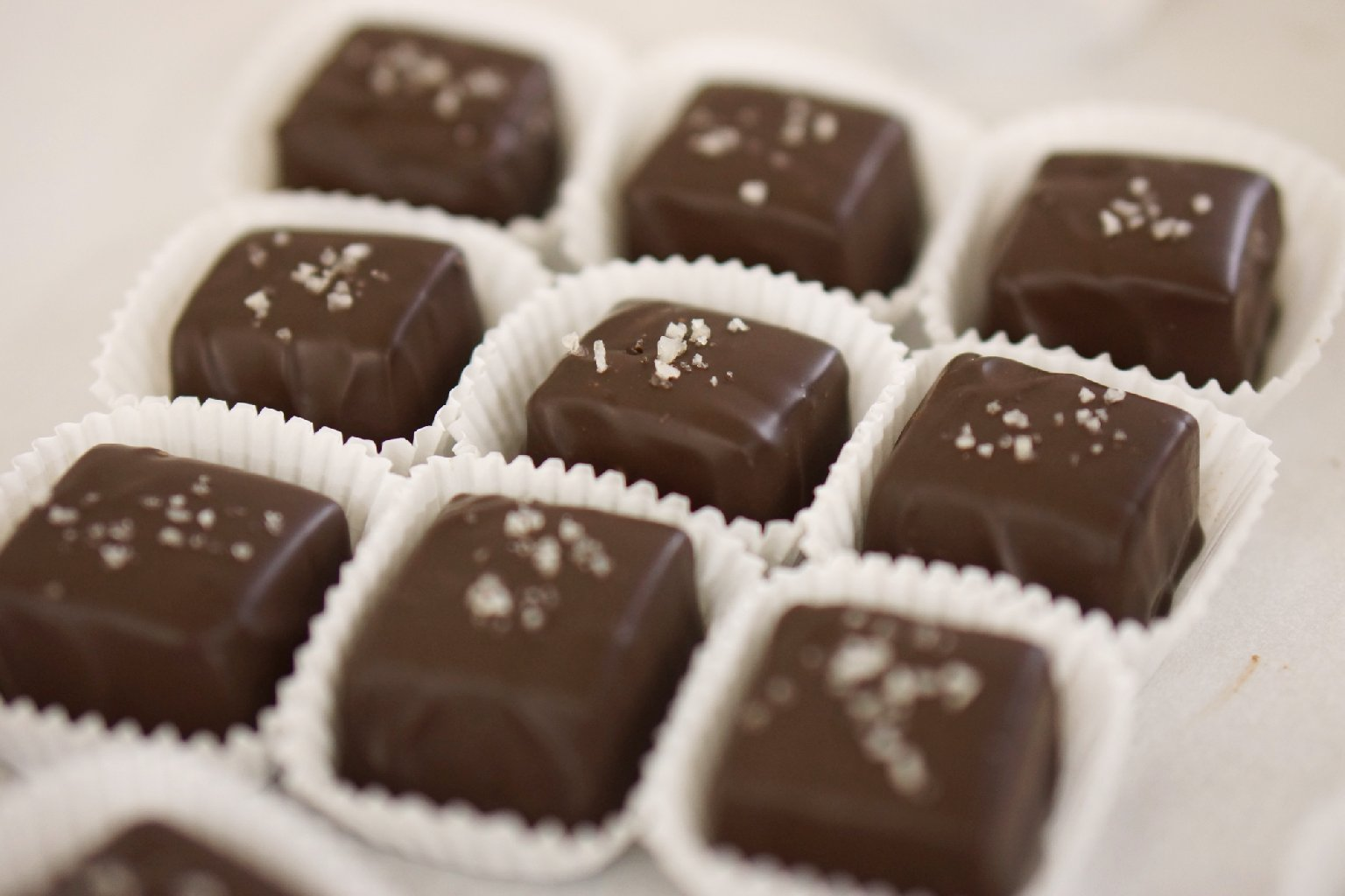 Poco Dolce caramels. Photo: Albert Moriguchi