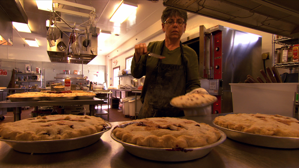 Breitbach's Country Dining owner Cindy Breitbach. Photo courtesy of Spinning Plates
