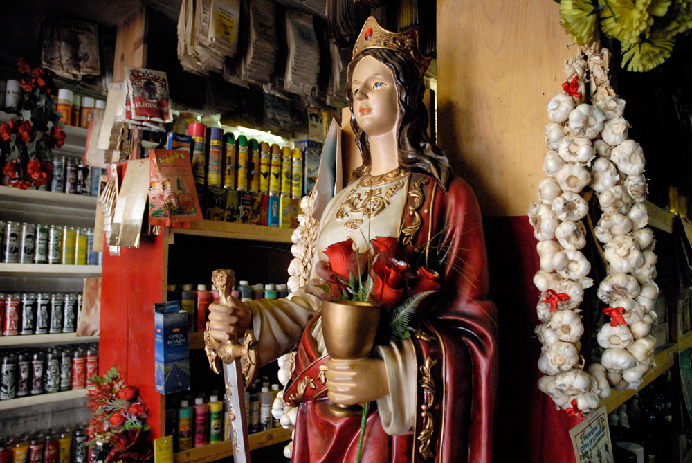 Inside Botanica Los Sueños in San Francisco's Mission District. Photo: Wendy Goodfriend