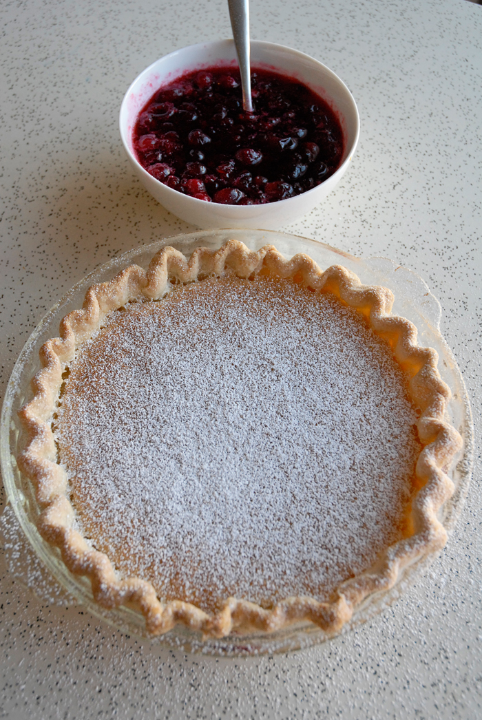 Set aside to cool completely and then serve with pie. Photo: Wendy Goodfriend
