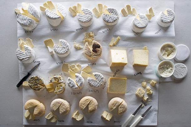 Cowgirl Creamery Cheese. Photo: Hirsheimer & Hamilton