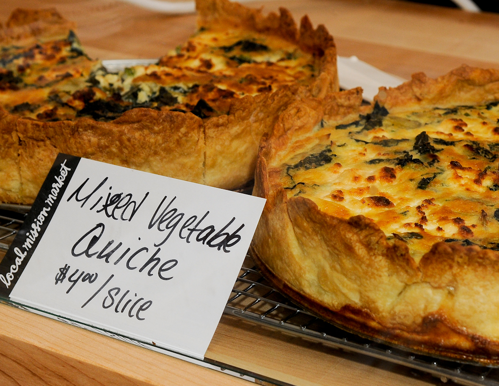 Mixed Vegetable Quiche. Photo: Naomi Fiss
