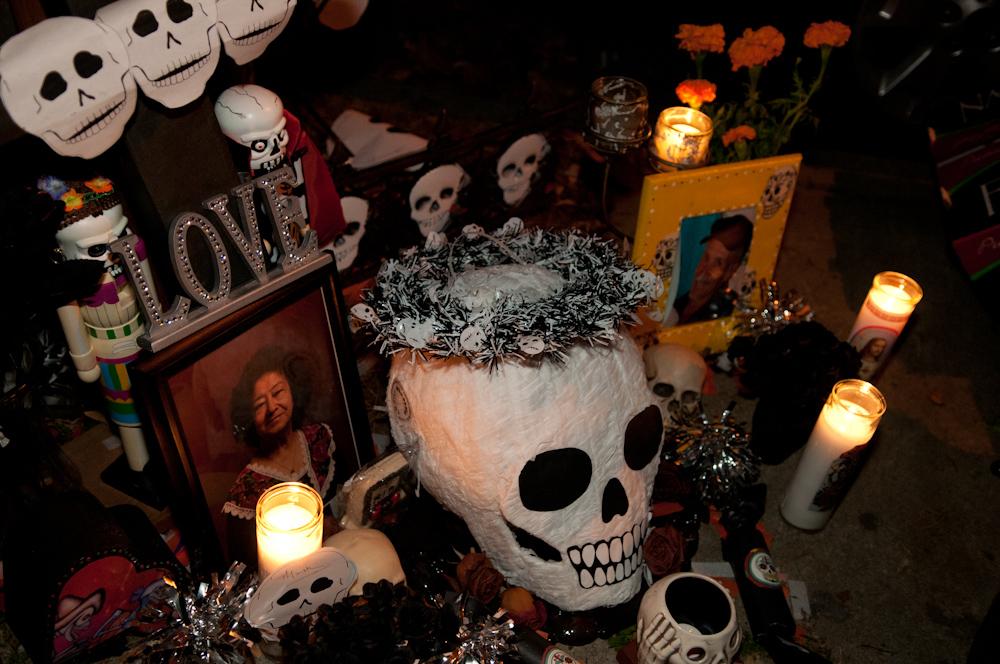 Memorial altar. Photo: Naomi Fiss