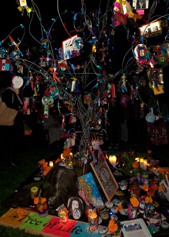 Tree of Life altar. Photo: Naomi Fiss